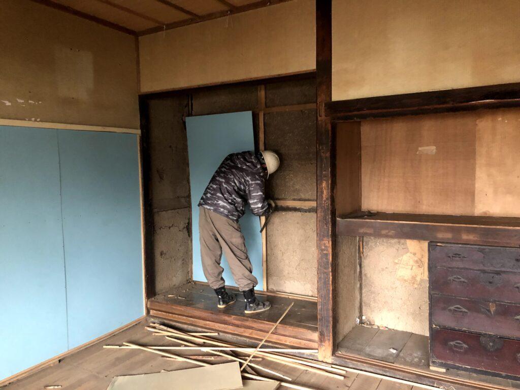 【栗原市 C様邸】解体工事が始まりました!